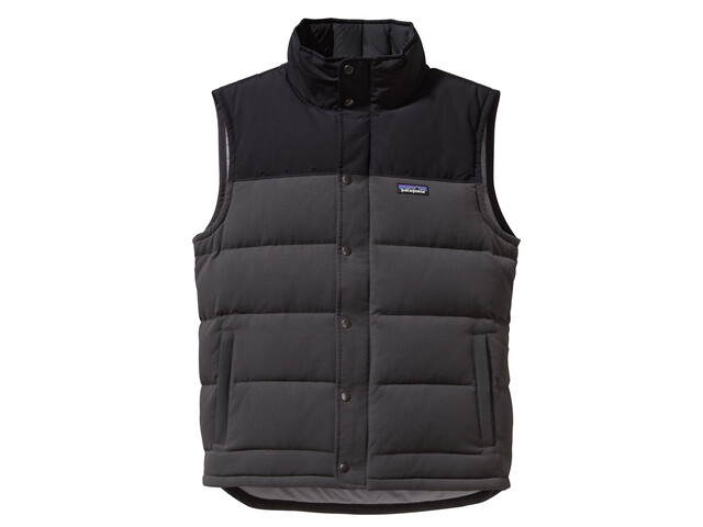 Patagonia Bivy Down Vest Men forge grey/black/feather grey